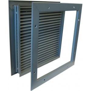 KM Thomas Steel Door Louver