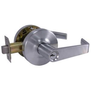 KM Thomas - Entry Lever Lock, Marine Grade SS