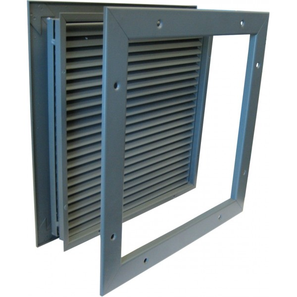KM Thomas - Steel Door Louver