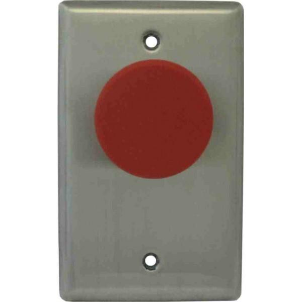 Km Thomas Push Button Single Gang