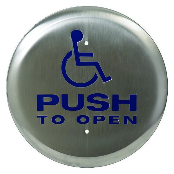 Km Thomas Round Push Button
