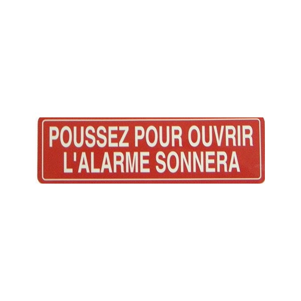 Km Thomas Push To Open Alarm Will Sound French